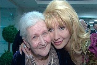 Ирина Аллегрова вместе с мамой Серафимой Михайловной