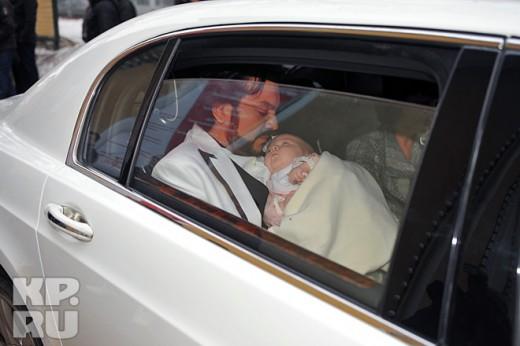8 апреля прошло крещение Аллы-Виктории