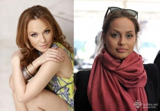 Альбина Джанабаева и Татьяна Воржева