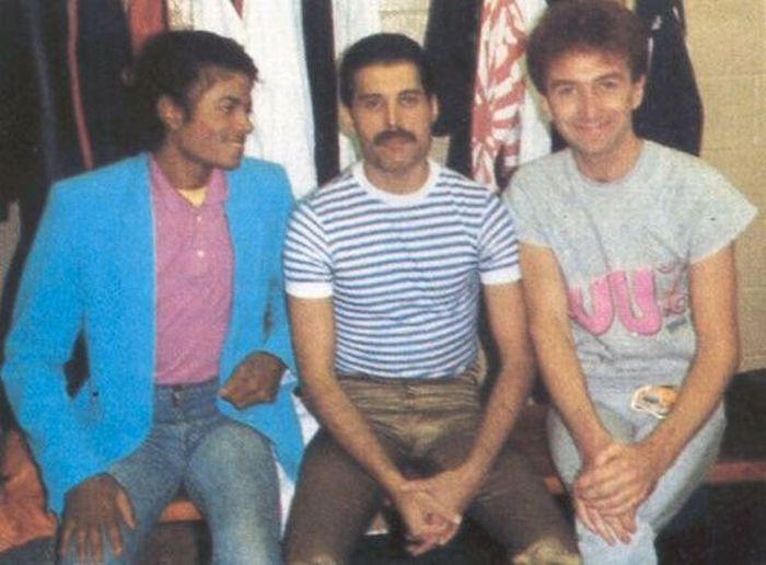 Майкл Джексон и Фредди Меркьюри пели вместе!