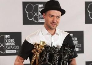 Джастин Тимберлейк стал фаворит церемонии MTV