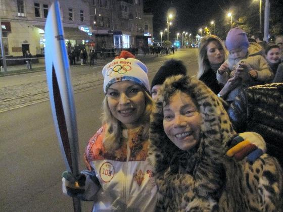 «Сочи 2014»: Лада Дэнс вошла в число почетных факелоносцев