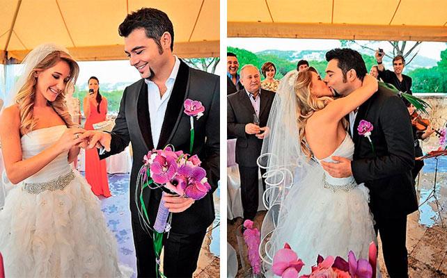 Тайная женитьба: Ковальчук и Чумаков сыграли свадьбу в Испании